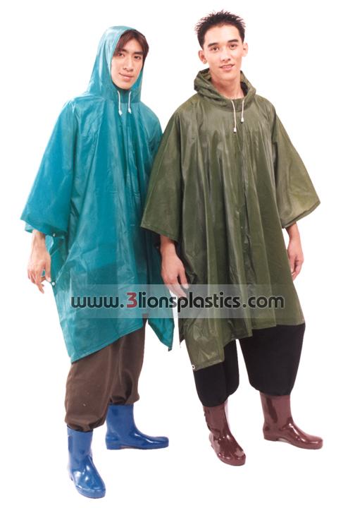 30-RG007 เสื้อกันฝนผู้ใหญ่ แบบค้างคาว - โรงงานผลิตเสื้อกันฝน