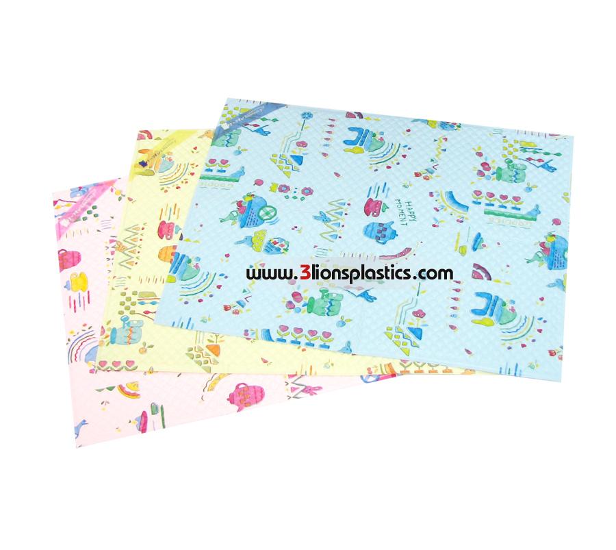 ผ้ายางญี่ปุ่น เล็ก- โรงงานผลิตผ้าพลาสติกปูรองที่นอนเด็ก
