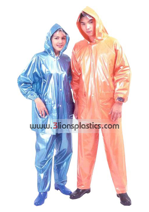 30-RG030 เสื้อกันฝนผู้ใหญ่ แบบเสื้อ+กางเกง - โรงงานผลิตเสื้อกันฝน