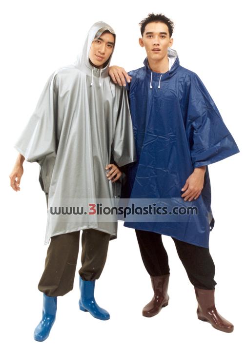 30-RG007/4 เสื้อกันฝนผู้ใหญ่ แบบค้างคาว - โรงงานผลิตเสื้อกันฝน
