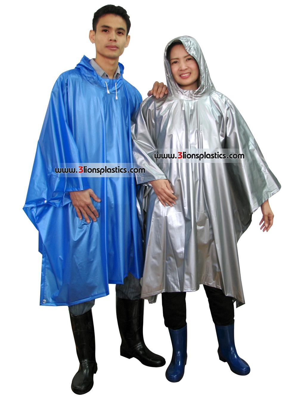 30-RG033 เสื้อกันฝนผู้ใหญ่ แบบค้างคาว - โรงงานผลิตเสื้อกันฝน