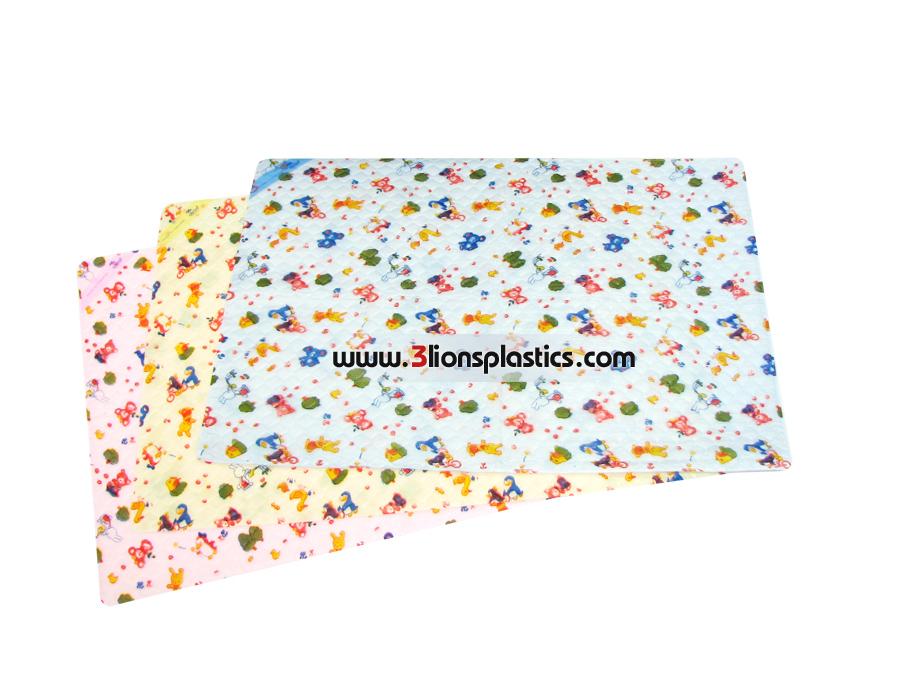 ผ้ายางธรรมดา ใหญ่- โรงงานผลิตผ้าพลาสติกปูรองที่นอนเด็ก