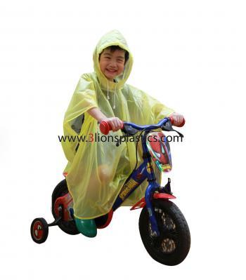 เสื้อกันฝนเด็ก แบบค้างคาว – โรงงานผลิตเสื้อกันฝน