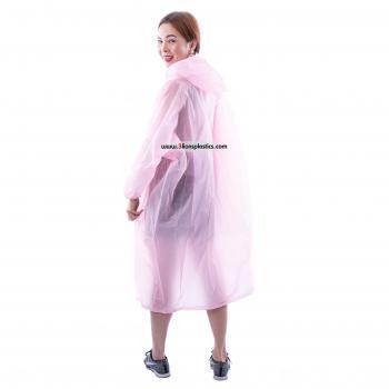 30-RG029A เสื้อกันฝนผู้ใหญ่ สีหวาน - โรงงานผลิตเสื้อกันฝน