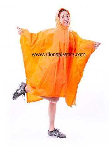 30-RG007/6 เสื้อกันฝนผู้ใหญ่ แบบค้างคาว (ภาพนี้ตกแต่งเพื่อการโฆษณาเท่านั้น) - โรงงานผลิตเสื้อกันฝน